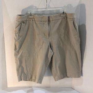 White House Black Market Bermuda Shorts